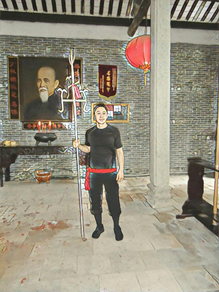 Prof arts martiaux lyon avec Trident