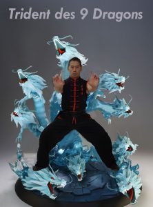 Trident des 9 Dragons Kung Fu Lyon