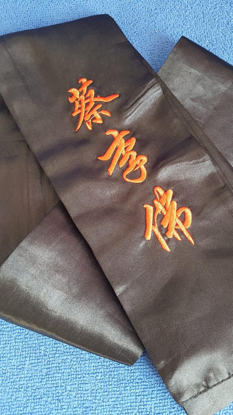 ceinture noire kung fu